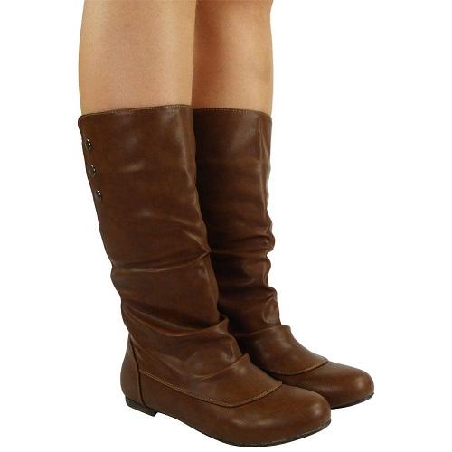 ladies mid-calf boots
